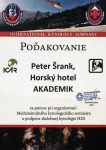 Hotel Akademik - Ocenenia
